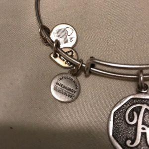 """Alex and Ani Jewelry - Alex and Ani """"R"""" bracelet"""